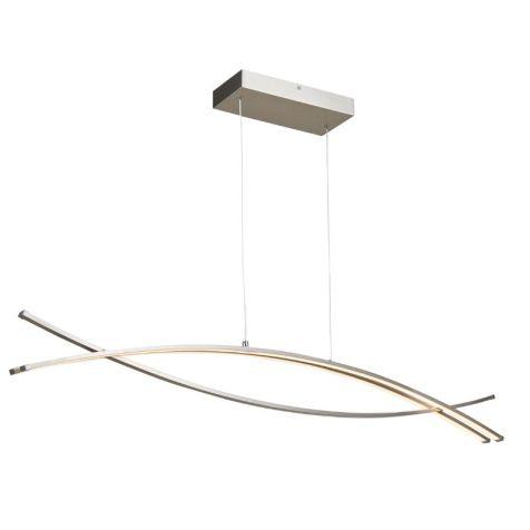 10016PN Wishbone LED 3 Light Pendant