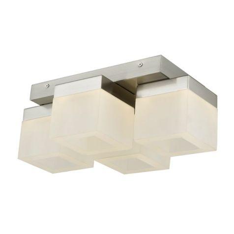 30055FM Cubic LED 4 Light Flush Mount