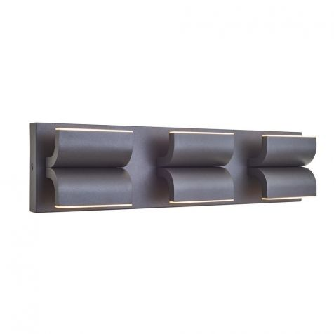 50075ODW Willow 3 Light Outdoor Wall Fixure