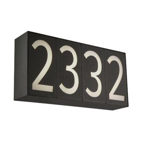 50091NL-4-MB Numero LED 2 Outdoor Wall Fixture